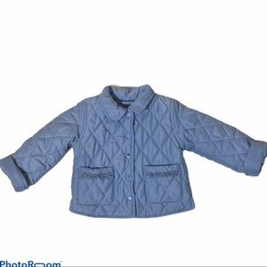 The Children's Place Quilted Snap Jacket 18 mos